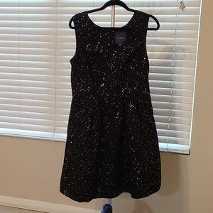 Modcloth Black Constellations dress